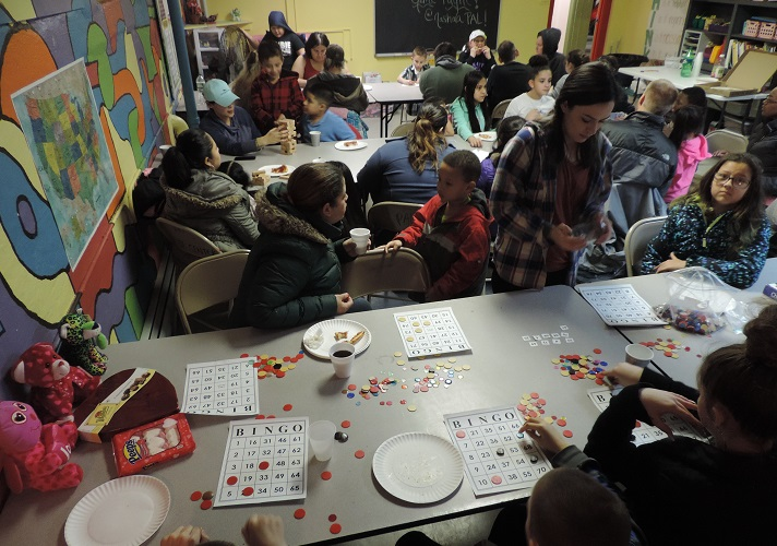A Wonderful turnout for Family Game Night  at Nashua PAL!
